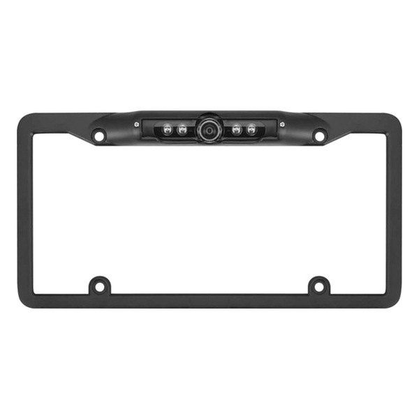 ScyTek® - Ultra Wide Viewing Angle Color Camera License Plate Pre-Mounted