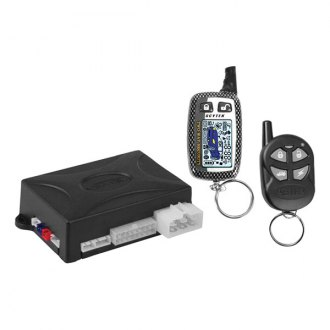 ScyTek® - Astra 1000 Keyless Entry and Remote Start System With One 4-Button and One 5-Button 2-Way LCD Remote
