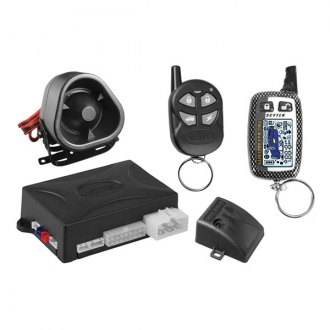 ScyTek® - Astra 4000 Security and Remote Start System 2-Button LCD and 5-Button Remote