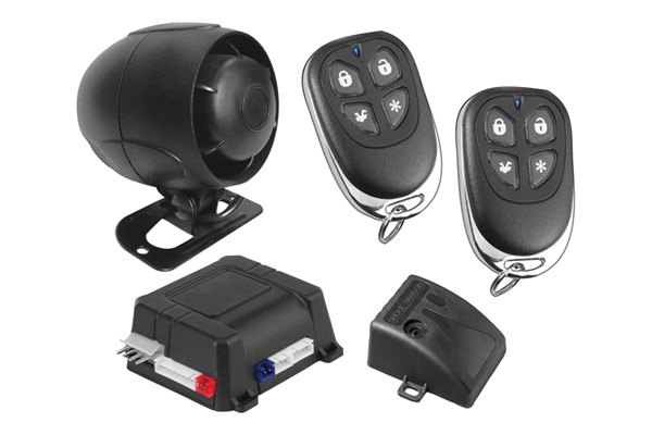 ScyTek® - Galaxy Series Complete Security System With 4-Button Remotes