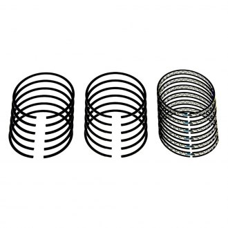 "Sealed Power® - Deep Groove Iron Standard Piston Ring Set with 0.190"" Deep Oil Ring Groove"