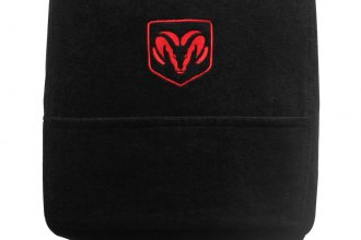 Seat Armour® - Black Console Cover with Dodge Logo