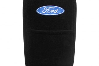 Seat Armour® - Black Console Cover with Ford Logo
