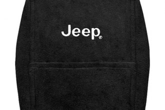 Seat Armour® - Black Console Cover with Jeep Logo