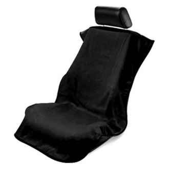 Seat Armour® - Black Towel Seat Cover w/o Logo