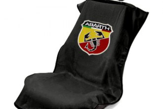 Seat Armour® SA100ABARB - Black Abarth Towel Seat Cover