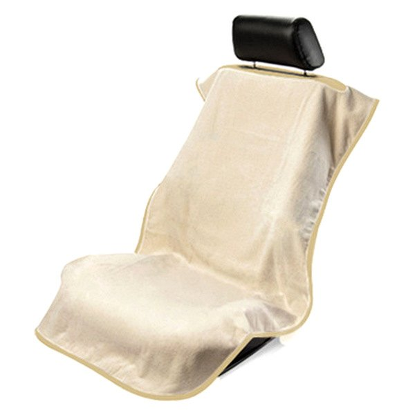 Seat Armour® - Tan Towel Seat Cover without Logo
