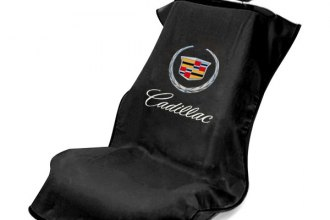 Seat Armour® SA100CADB - Black Towel Seat Cover