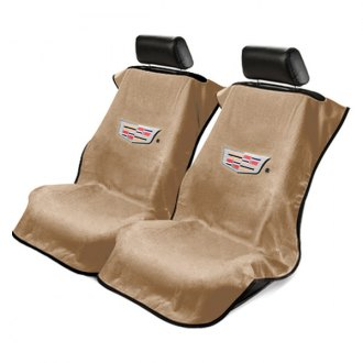 Seat Armour® - Towel Seat Cover with Cadillac Logo