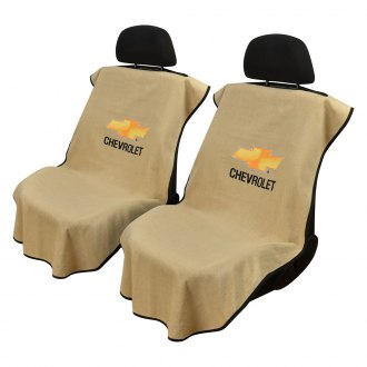 Seat Armour® - Towel Seat Cover with Chevy Logo