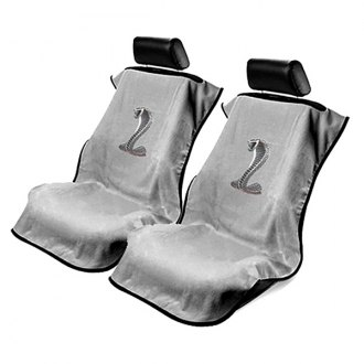Seat Armour® - Towel Seat Cover with Mustang Logo