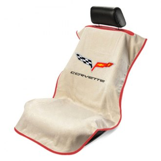 Seat Armour® - Tan Towel Seat Cover (C6)
