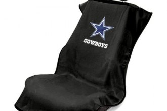 Seat Armour® - Dallas Cowboys Towel Seat Cover (Black)
