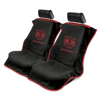 Seat Armour® - Towel Seat Cover with Dodge Logo