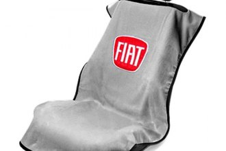 Seat Armour® SA100FIATG - Gray Towel Seat Cover