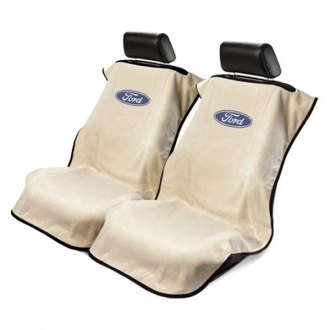 Seat Armour® - Towel Seat Cover with Ford Logo