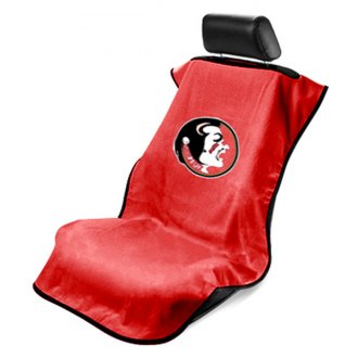 Seat Armour® - NCAA Towel Seat Cover with Florida State Garnet Logo