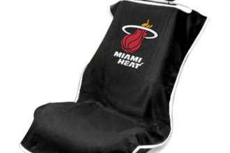 Seat Armour® - Miami Heat Towel Seat Cover (Black)