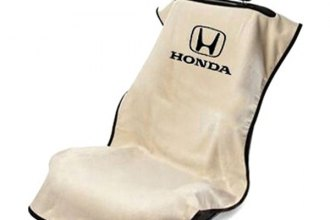Seat Armour® SA100HONT - Tan Towel Seat Cover with Honda Logo
