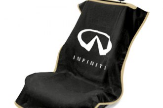 Seat Armour® SA100INFB - Black Towel Seat Cover