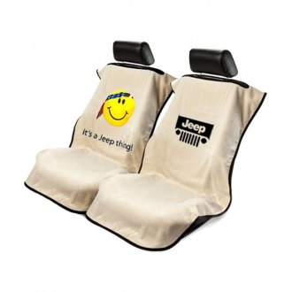 Seat Armour® - Towel Seat Cover with Jeep Logo