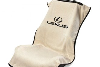 Seat Armour® SA100LXST - Tan Towel Seat Cover with Lexus Logo