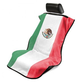 Seat Armour® - Towel Seat Cover with Mexican Flag Logo