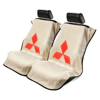 Seat Armour® - Towel Seat Cover with Mitsubishi Logo