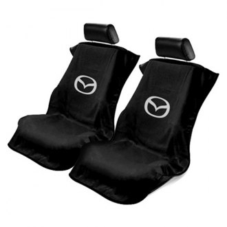 Seat Armour® - Towel Seat Cover with Mazda Logo