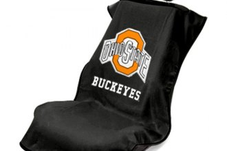 Seat Armour® - Ohio Buckeyes University Towel Seat Cover (Black)