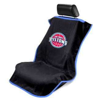 Seat Armour® - NBA Towel Seat Cover with Detroit Pistons Logo