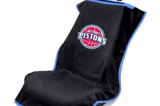 Seat Armour® - Detroit Pistons Towel Seat Cover (Black)