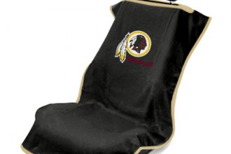 Seat Armour® - Redskins Towel Seat Cover (Black)