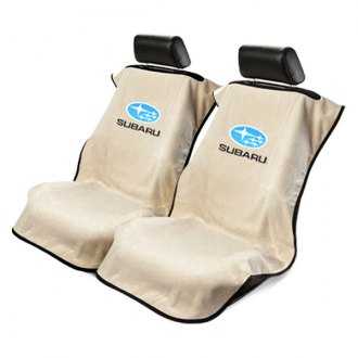 Seat Armour® - Towel Seat Cover with Subaru Logo