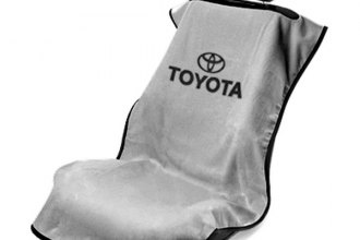 Seat Armour® SA100TOYG - Gray Towel Seat Cover