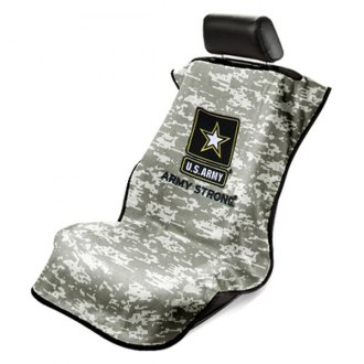 Seat Armour® - Towel Seat Cover with US Army Strong Logo