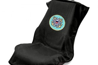 Seat Armour® - US Coast Guard Towel Seat Cover (Black)