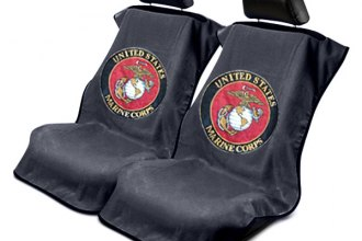 seat armour towel seat cover with military logos. Black Bedroom Furniture Sets. Home Design Ideas