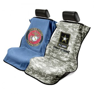 Seat Armour® - Towel Seat Cover with Military Logos