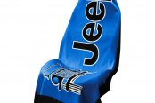Seat Armour® - Towel 2 Go Blue Seat Cover