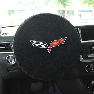 "Seat Armour® - ""Corvette C6"" Steering Wheel Cover"