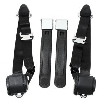 Seatbelt Solutions® - 3 Point Seat Belts Non Direct Fit Conversion Kit