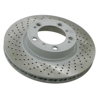 Sebro® - Drilled Coated Brake Disc