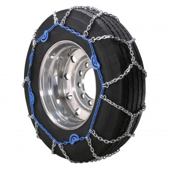 Security Chain Company® - Diamond Blue™ Diamond Pattern Highway Service Alloy Cam Chains