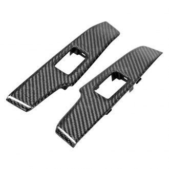 Seibon® - OE-Style Carbon Fiber Rear Rear Window Control Covers