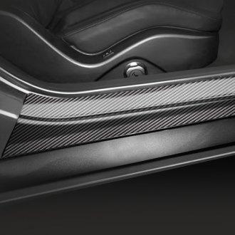 Seibon® - Carbon Fiber Door Sills & Custom Door Sills | Stainless Steel Logos Illuminated u2013 CARiD.com