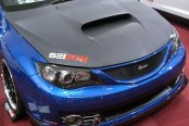 SEIBON® - OEM-Style Dry Carbon Hood (Sedan) Installed