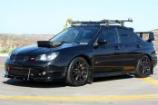 SEIBON® - STI-Style Carbon Fiber Hood Scoop Installed