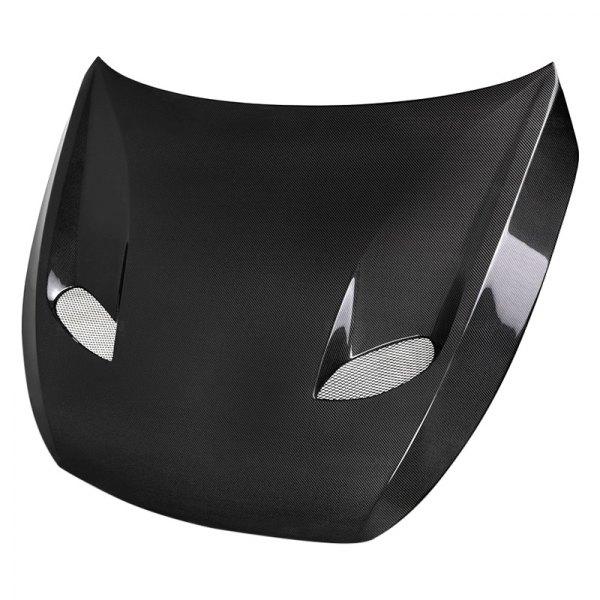Seibon® - TSII-Style Gloss Carbon Fiber Hood