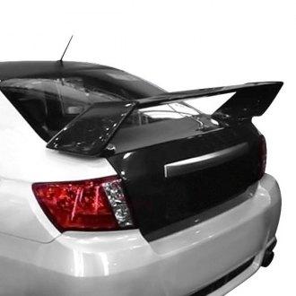 2009 Subaru Impreza Spoilers Custom Factory Lip Amp Wing